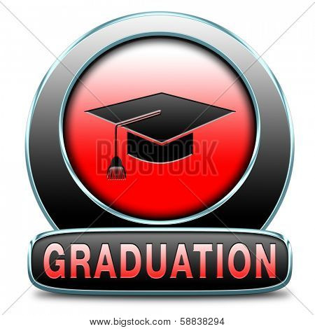 graduation day at university college or high school finish education