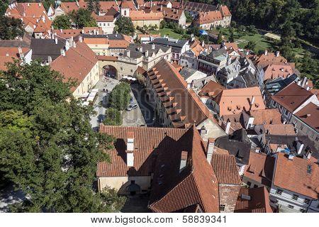 View of Cesky Krumlov,Prague, Czech