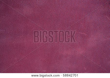 American Football Texture Close Up for Sports Background