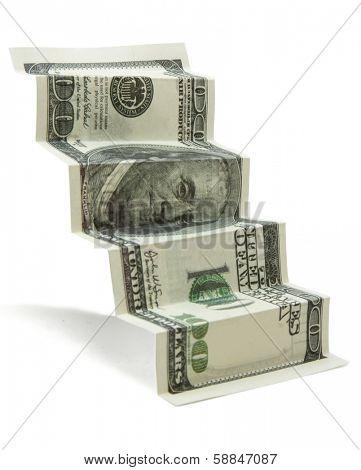 100 dollar stairs