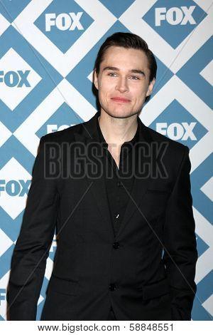 LOS ANGELES - Jan 13:  Sam Underwood at the  FOX TCA Winter 2014 Party at The Langham Huntington Hotel onJanuary 13, 2014 in Pasadena, CA