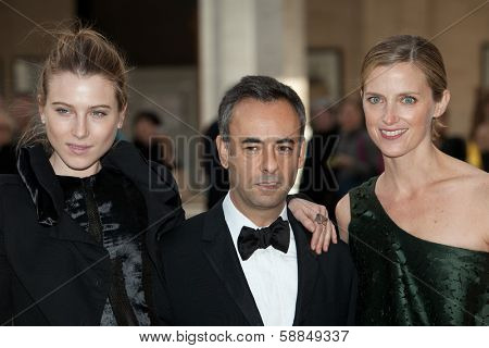 NEW YORK - MAY 18: (L-R) Dree Hemingway, Francisco Costa and Amanda Brooks attend the 69th Annual American Ballet Theatre Spring Gala at The Metropolitan Opera House on May 18, 2009 in New York City.