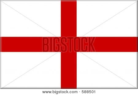 England Flag Button
