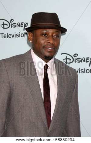 LOS ANGELES - JAN 17:  Omar Epps at the Disney-ABC Television Group 2014 Winter Press Tour Party Arrivals at The Langham Huntington on January 17, 2014 in Pasadena, CA