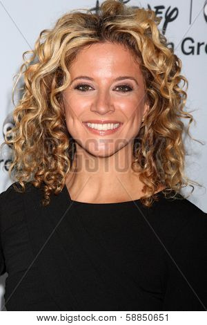 LOS ANGELES - JAN 17:  Alexis Carra at the Disney-ABC Television Group 2014 Winter Press Tour Party Arrivals at The Langham Huntington on January 17, 2014 in Pasadena, CA
