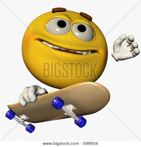 Skater Smiley 1