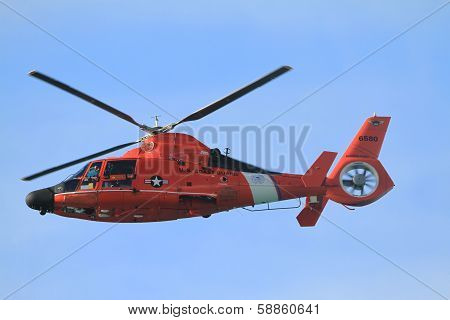The Eurocopter HH-65 Dolphin