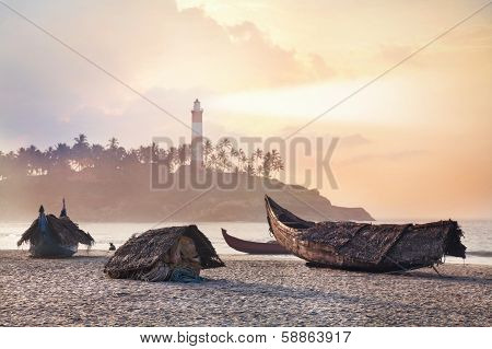 Fisherman Boats In India