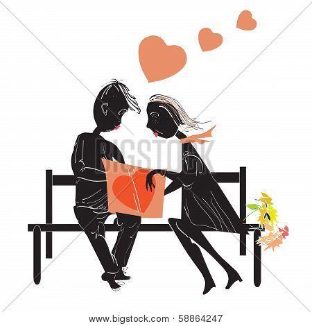 Couple Reading A Book