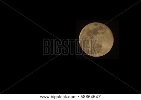 Full Moon In Uganda