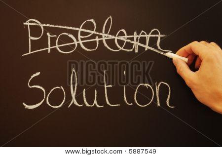 Solución y problema