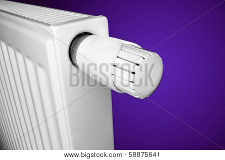 Radiator With Thermostat
