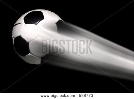 Soccer - Football Flying