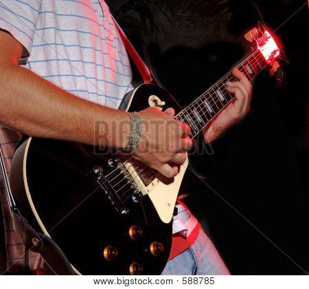 Gitarrespielen - Musikband