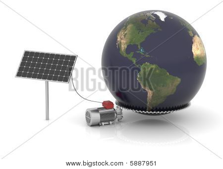 Solar Energy Can Move The World