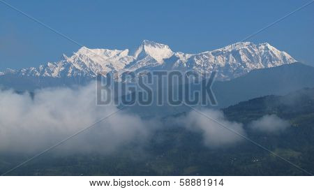 Majestic Annapurna Range, Nepal