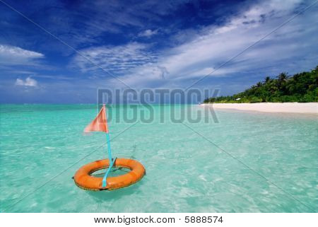 Beach And Buoy