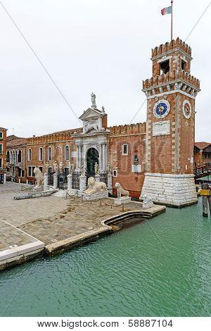 Porta Magna, Venetian Arsenal (venice, Italy)