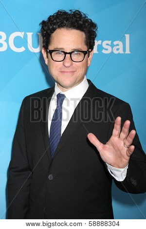 LOS ANGELES - JAN 19:  jj Abrams at the NBC TCA Winter 2014 Press Tour at Langham Huntington Hotel on January 19, 2014 in Pasadena, CA