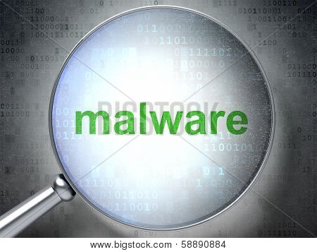Safety concept: Malware with optical glass