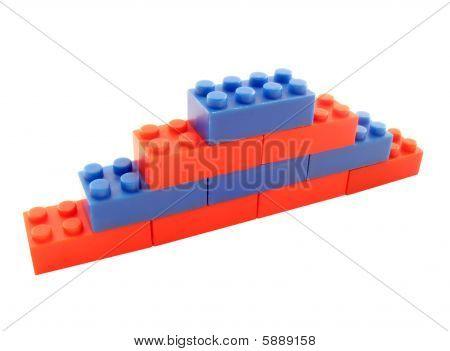 Ladder-wall From Blocks