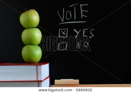Vote Yes Or No