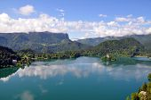 Bled Lake in Slovenia with the Assumption of Mary Church