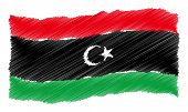 image of libya  - Sketched - JPG