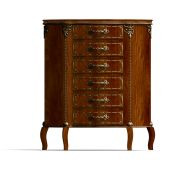 pic of armoire  - 3D rendering of a wooden commode with drawers of Louis XV - JPG