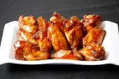 picture of chicken wings  - spicy and hot chicken wings for dinner time - JPG