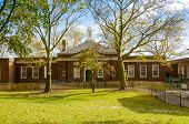 Governors Island, New York: old building
