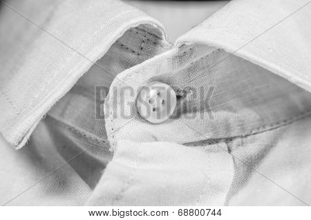 White Shirt And Color Button
