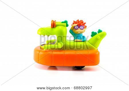 Rugrats Chuckie Finster Reptar