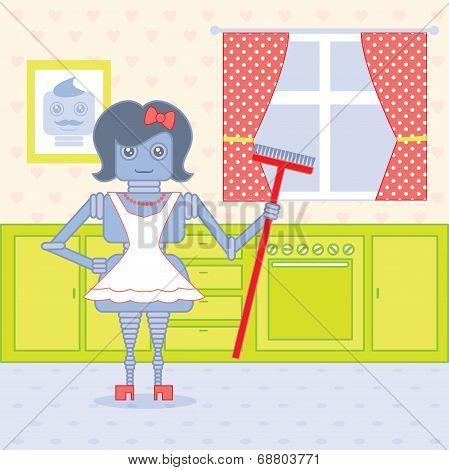 Robot Housewife