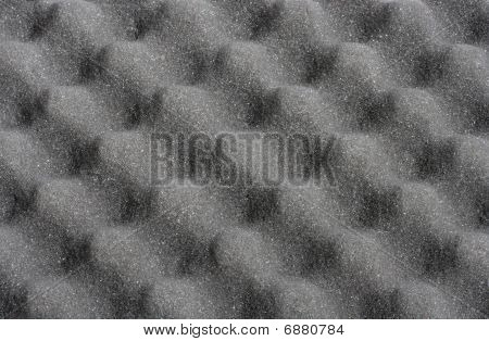 Wavy foam rubber background texture