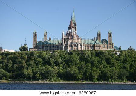 Parliament buildings in Ottawa