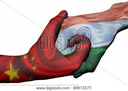 Handshake Between China And India