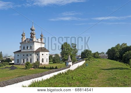 Ancient Monastery Of Archangel Michael In Yuriev-polsky