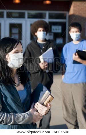 Swine Flu At School