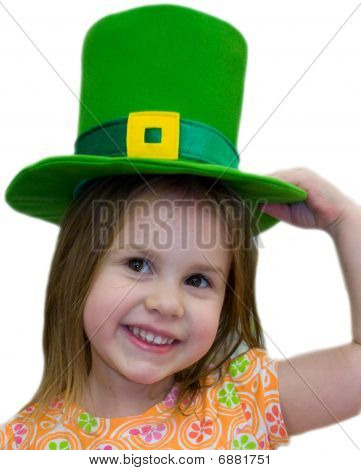 Green Hat Girl