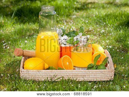 Homemade Lemonade From Oranges