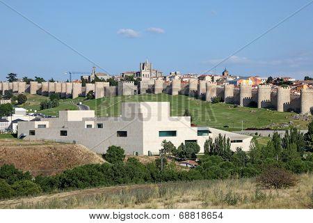 Medieval Spanish Town Avila