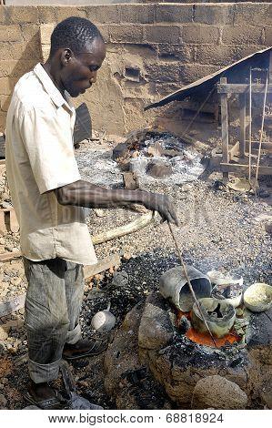 The Work Of Bronze In Burkina Faso