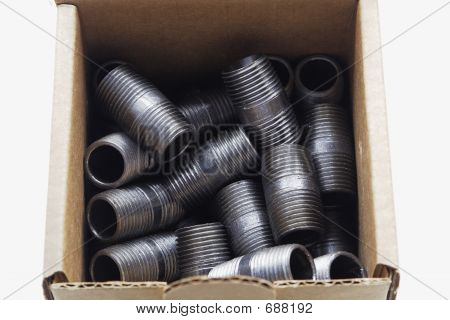Black Pipe Fittings Boxed