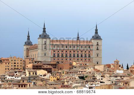 The Alcazar Of Toledo, Spain
