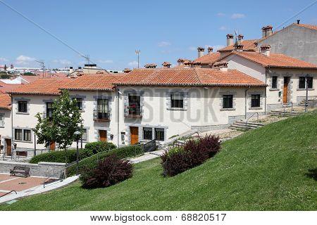 Residential Buildings In Avila, Spain