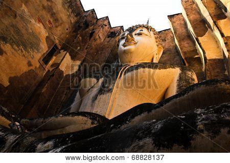 Buddha Statue In Sukhothai Historic Park