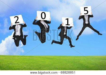 2015 New Year Business Concept