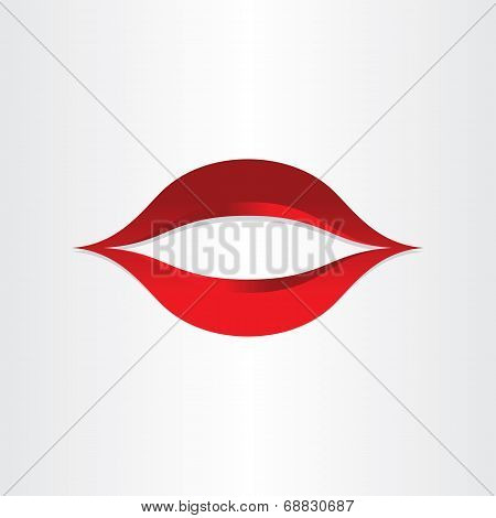 Girl Mouth Kiss Lips Icon