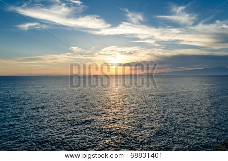 Panoramic Sea View Next To Scala Marion Thassos Greece